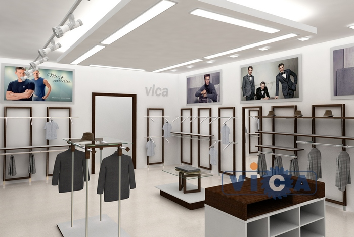 8a5a7053972c Купить торговые стойки вешала для магазинов одежды и белья от ...