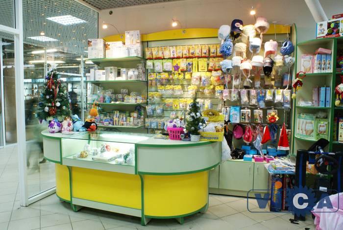 """Оборудование для магазина детской одежды ТЦ """"Столица"""" ZC46"""