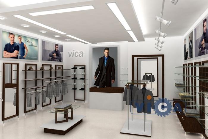 9952dcbc7098606 01 Дизайн магазина мужской одежды