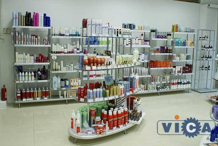 Торговое оборудование для магазинов для косметики