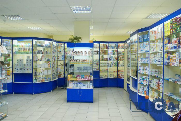 проект витрины для аптеки