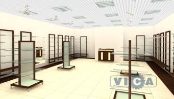 6c8cd434a8b1 Дизайн проекты магазинов обуви от компании «Вика»