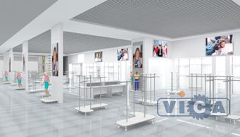 разработка дизайна детского магазина