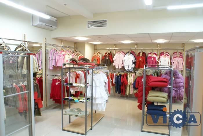 Оборудование для магазина детской одежды из Франции GB13