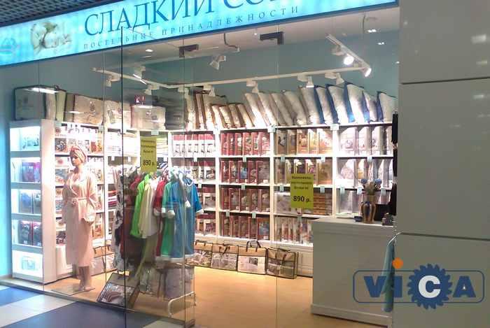Дизайн магазинов постельного белья